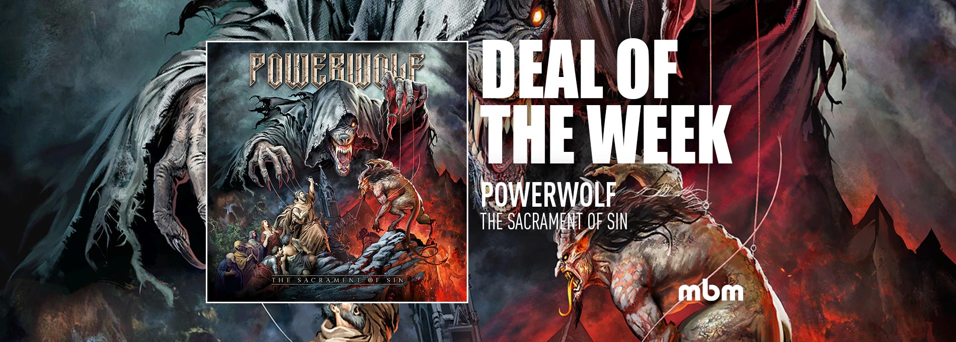 Deal Of The Week: POWERWOLF - The Sacrament Of Sin