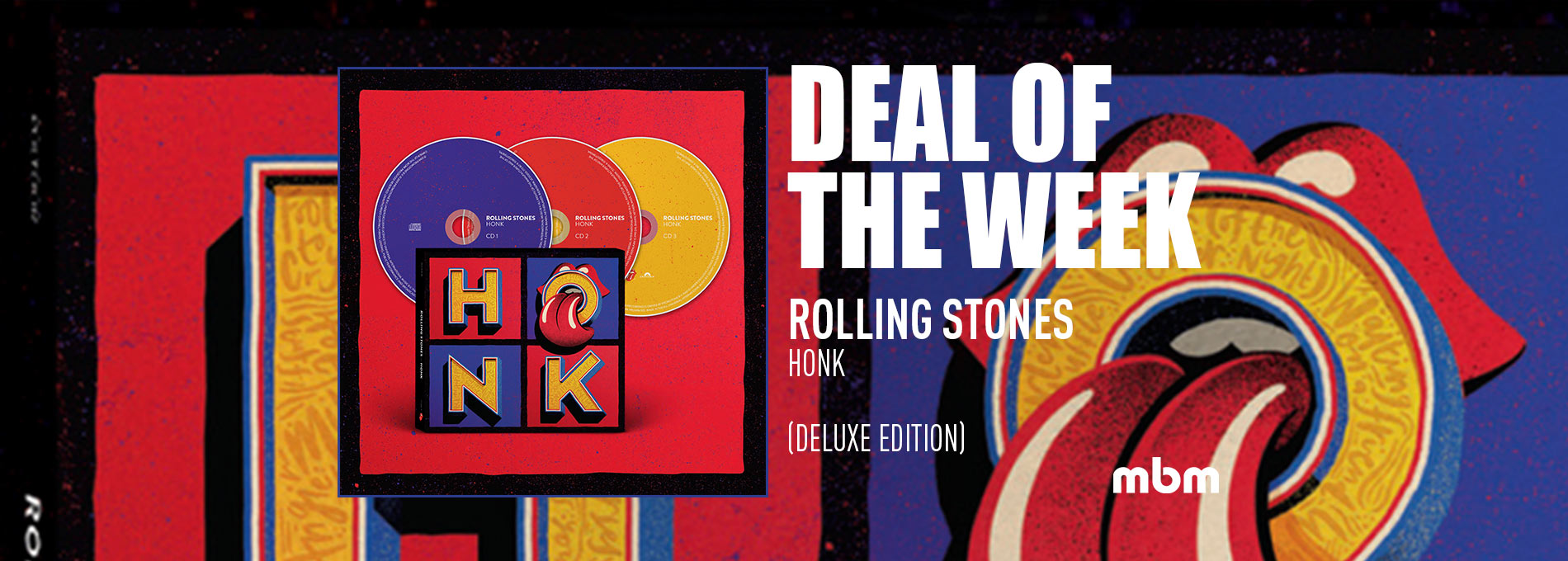 Deal Of The Week: ROLLING STONES - Honk (Deluxe Edition)