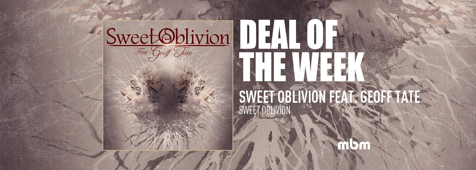Deal Of The Week: SWEET OBLIVION FEAT. GEOFF TATE - Sweet Oblivion