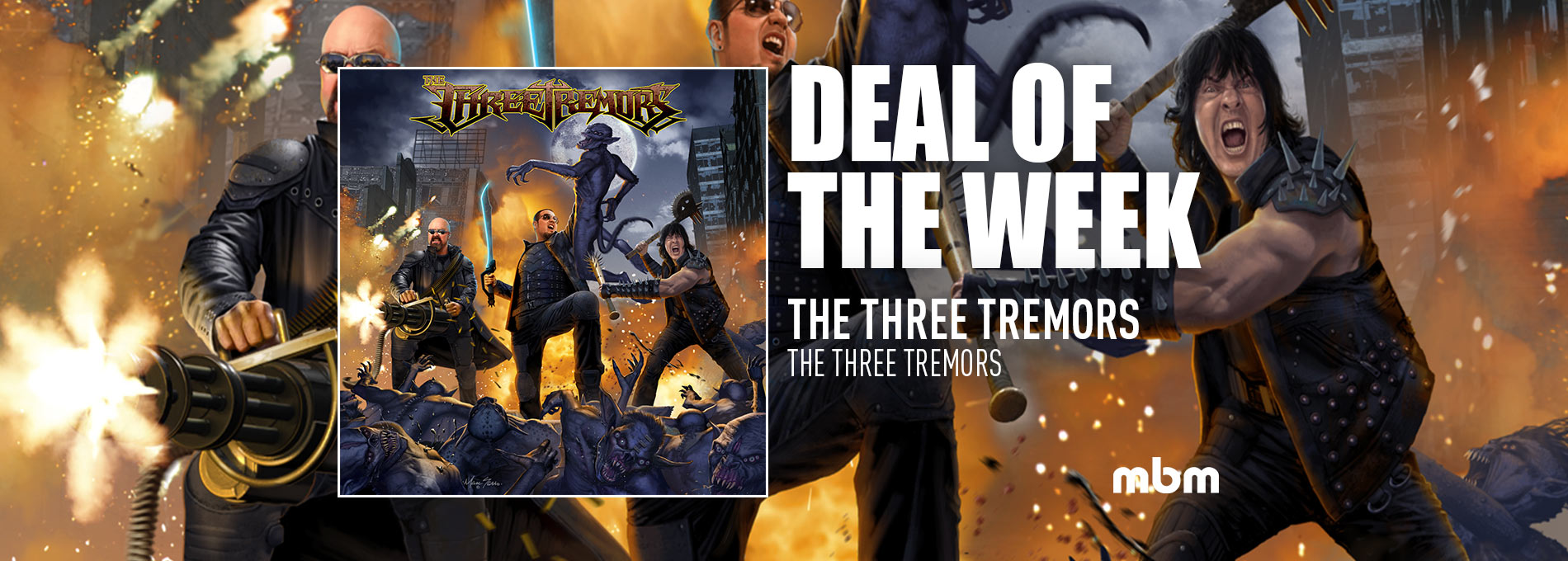 Deal Of The Week: THE THREE TREMORS - The Three Tremors